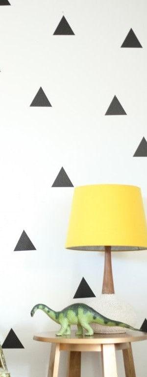 a triángulos