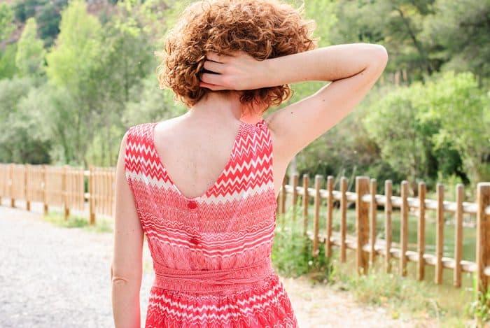 guillermina-ferrer-red-chiffon-dress