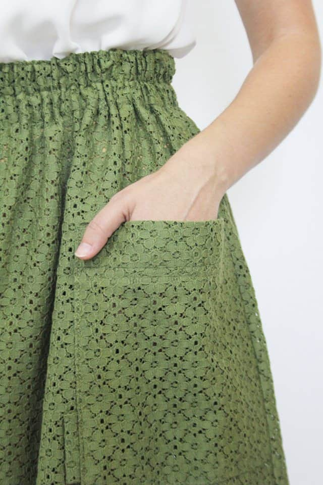 green_cotton_skirt_guillerminaferrerdesign