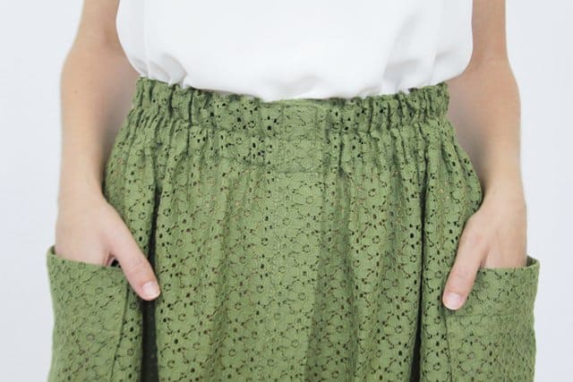 green_cotton_skirt_guillerminaferrerdesign