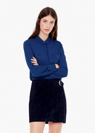 camisa bolsillos mango 9.99